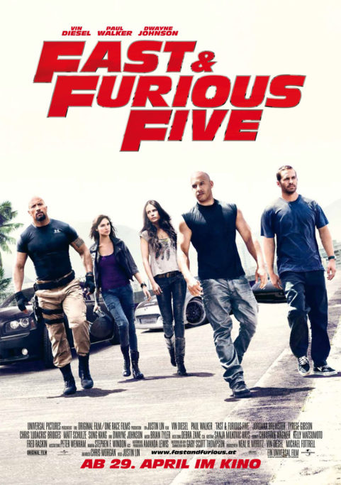 Fast & Furious Five (2011)